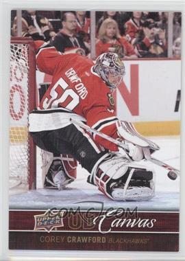 2012-13 Upper Deck - UD Canvas #C22 - Corey Crawford