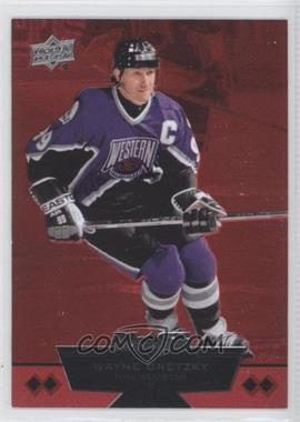 2012-13 Upper Deck Black Diamond - [Base] - Ruby #225 - Quad Diamond NHL All-Star - Wayne Gretzky /100