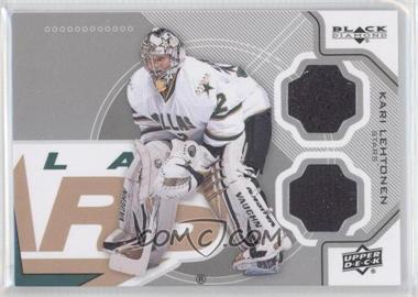 2012-13 Upper Deck Black Diamond - Double Diamond Jersey #DALL-KL - Kari Lehtonen