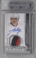 Rookie Patch Autograph - Jakob Silfverberg [BGS 9 MINT] #/249