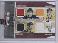 Alex Ovechkin, Mario Lemieux, Joe Thornton, Mats Sundin [Uncirculated] #/9