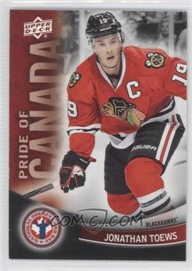 2012 Upper Deck National Hockey Card Day - Canadian #10 - Jonathan Toews