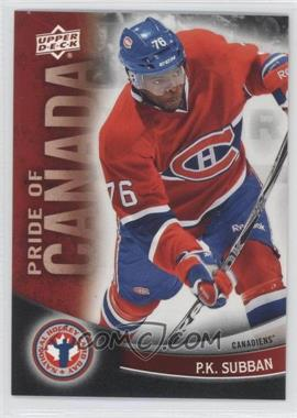 2012 Upper Deck National Hockey Card Day - Canadian #7 - P.K. Subban