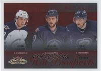Hot Prospects Trios - John Albert, Eric O'Dell, Julian Melchiori /27