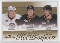 Hot Prospects Trios - Hampus Lindholm, Alex Grant, Sami Vatanen /399