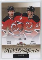 Hot Prospects Duos - Mike Sislo, Eric Gelinas /299