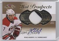 Hot Prospects Auto Patch Tier 1 - Ryan Murphy #/375