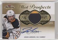 Hot Prospects Auto Patch Tier 1 - Johan Larsson #/375