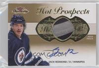 Hot Prospects Auto Patch Tier 1 - Zach Redmond /175