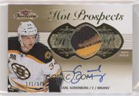 Hot Prospects Auto Patch Tier 1 - Carl Soderberg #/375