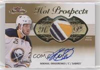 Hot Prospects Auto Patch Tier 1 - Mikhail Grigorenko /375