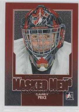 2013-14 In the Game Between the Pipes - Masked Men 6 #MM-48 - Carey Price