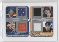 Mark Messier, Grant Fuhr, Cam Neely, Ray Bourque /30