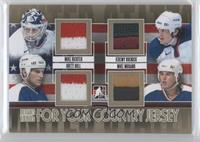 Mike Richter, Jeremy Roenick, Brett Hull, Mike Modano /10