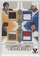 Mario Lemieux, Mark Messier, Jaromir Jagr, Mike Richter #/1