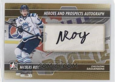 2013-14 In the Game Heroes and Prospects - Autograph #A-NR - Nicolas Roy