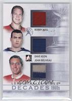 Bobby Hull, Dave Keon, Jean Beliveau