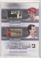 Mike Gartner, Rod Langway