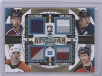 Peter Forsberg, Mark Messier, John LeClair, Scott Niedermayer #/10