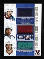 Jaromir Jagr, Peter Forsberg, Scott Niedermayer #1/1