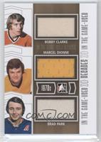 Bobby Clarke, Marcel Dionne, Brad Park