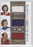Larry Robinson, Darryl Sittler, Bobby Hull