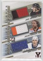 Jake Virtanen, Jakub Voracek, Mike Bossy #/1