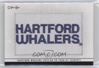 Hartford Whalers 1979-80 to 1996-97 (Script) [EXtoNM]