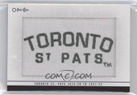Toronto St. Pats 1919-20 to 1921-22