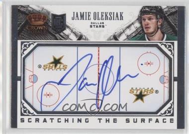 2013-14 Panini Crown Royale - Scratching the Surface Autographs #SC-JO - Jamie Oleksiak