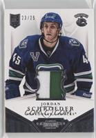 Jordan Schroeder #/25