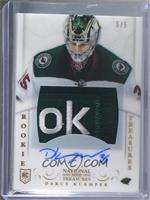 Rookie Treasures Patch Autograph - Darcy Kuemper #/5