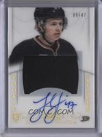 Rookie Treasures Patch Autograph - Hampus Lindholm #/47