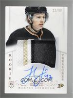 Rookie Treasures Patch Autograph - Hampus Lindholm #/99