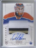 Rookie Treasures Patch Autograph - Viktor Fasth #/99