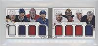 Carey Price, Erik Karlsson, Jhonas Enroth, Pavel Datsyuk, Phil Kessel, Scott Cl…