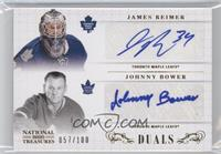 James Reimer, Johnny Bower /100