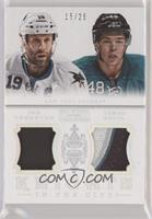 Joe Thornton, Tomas Hertl #/25