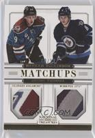 Jacob Trouba, Nathan MacKinnon #/10