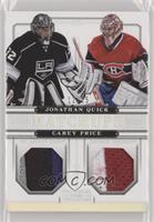 Carey Price, Jonathan Quick #/25