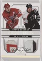 Eric Lindros, Steve Yzerman #/25