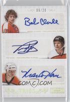 Bobby Clarke, Mark Howe, Tim Kerr /20