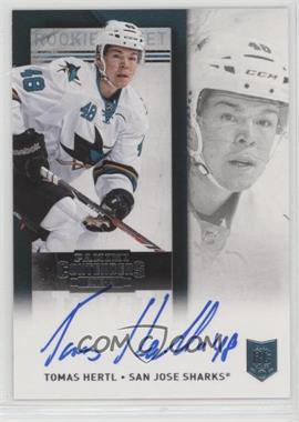 2013-14 Panini Playoff Contenders - [Base] - Rookie Ticket Signatures [Autographed] #271.1 - Tomas Hertl (Base)