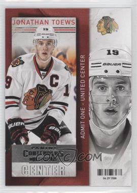 2013-14 Panini Playoff Contenders - [Base] #1 - Jonathan Toews