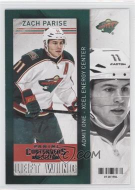 2013-14 Panini Playoff Contenders - [Base] #22 - Zach Parise