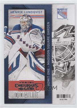 2013-14 Panini Playoff Contenders - [Base] #73 - Henrik Lundqvist