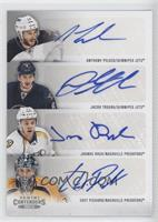 Anthony Peluso, Chet Pickard, Jacob Trouba, Joonas Rask