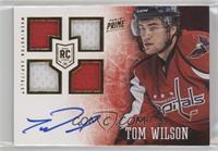 Prime Rookies Quad - Tom Wilson #/199