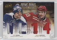 Pavel Datsyuk, Phil Kessel #/50