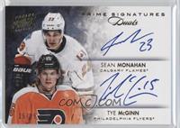 Sean Monahan, Tye McGinn #/25